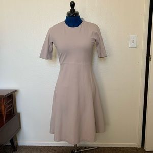 UNIQLO Fit & Flare Dress Sz 6 170 new with tags